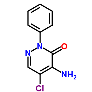 3(2H)-Pyridazinone, 4-amino-5-chloro-2-phenyl- 1698-61-9