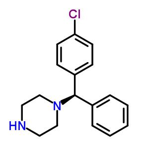 (-)-1-[(4-氯苯基)苯甲基]哌嗪 300543-56-0;130018-88-1