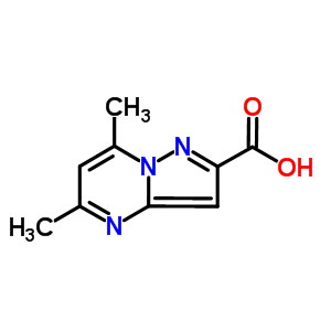 5,7-dimethylpyrazolo[1,5-a]pyrimidine-2-carboxylic acid 300691-07-0
