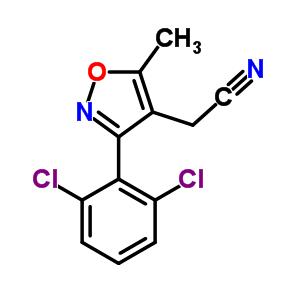 519056-44-1 [3-(2,6-dichlorophenyl)-5-methyl-1,2-oxazol-4-yl]acetonitrile