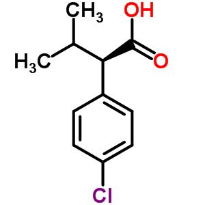 63640-09-5 (2R)-2-(4-chlorophenyl)-3-methylbutanoic acid
