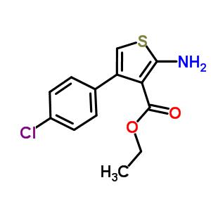 65234-09-5 ethyl 2-amino-4-(4-chlorophenyl)thiophene-3-carboxylate
