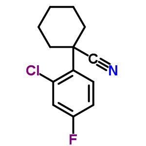 214262-93-8 1-(2-chloro-4-fluorophenyl)cyclohexanecarbonitrile