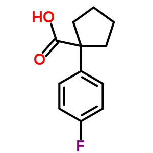 214262-99-4 1-(4-fluorophenyl)cyclopentanecarboxylic acid
