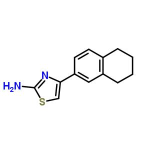 87999-04-0 4-(5,6,7,8-tetrahydronaphthalen-2-yl)-1,3-thiazol-2-amine