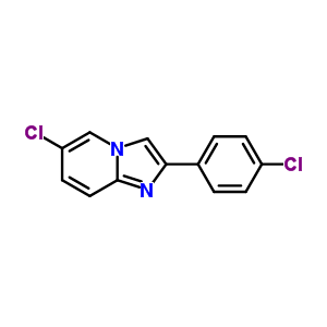 88964-99-2 6-chloro-2-(4-chlorophenyl)imidazo[1,2-a]pyridine