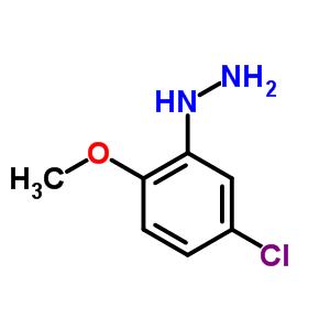 202823-24-3;5446-16-2 (5-chloro-2-methoxyphenyl)hydrazine