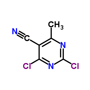 56035-64-4 2,4-dichloro-6-methylpyrimidine-5-carbonitrile