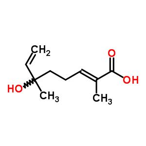 28420-25-9 (2E)-6-hydroxy-2,6-dimethylocta-2,7-dienoic acid