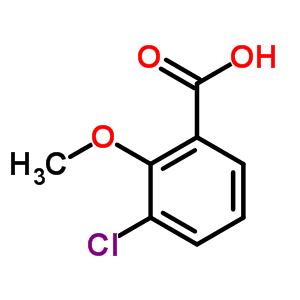 3260-93-3 3-chloro-2-methoxybenzoic acid