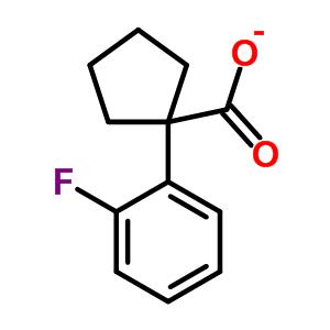 214262-96-1 1-(2-fluorophenyl)cyclopentanecarboxylic acid