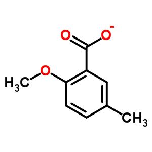 2-甲氧基-5-甲基苯甲酸 25045-36-7