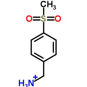 4393-16-2 [4-(methylsulfonyl)phenyl]methanaminium