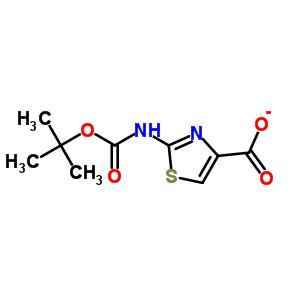 83673-98-7 2-[(tert-butoxycarbonyl)amino]-1,3-thiazole-4-carboxylic acid