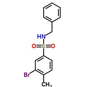 850429-67-3 N-benzyl-3-bromo-4-methylbenzenesulfonamide