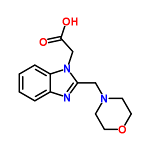 886851-65-6 [2-(morpholin-4-ylmethyl)-1H-benzimidazol-1-yl]acetic acid