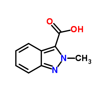 2-Methyl-2H-indazole-3-carboxylic Acid 34252-44-3