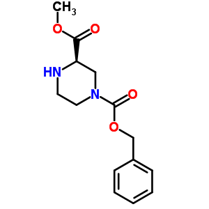 405175-79-3 1-Benzyl 3-methyl (3R)-piperazine-1,3-dicarboxylate