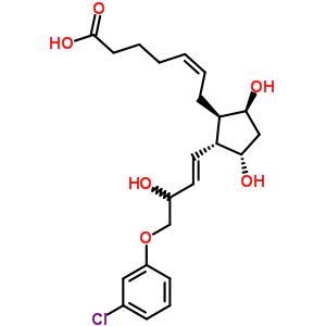 40665-93-8 (5Z)-7-{(1R,2R,3S,5S)-2-[(1E)-4-(3-chlorophenoxy)-3-hydroxybut-1-en-1-yl]-3,5-dihydroxycyclopentyl}hept-5-enoic acid