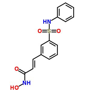 414864-00-9;866323-14-0 (2E)-N-hydroxy-3-[3-(phenylsulfamoyl)phenyl]prop-2-enamide