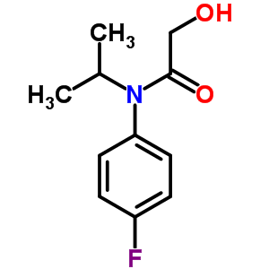 54041-17-7 N-(4-fluorophenyl)-2-hydroxy-N-(1-methylethyl)acetamide