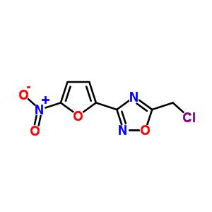 59-38-1 5-(chloromethyl)-3-(5-nitrofuran-2-yl)-1,2,4-oxadiazole