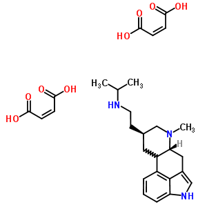 59033-44-2 N-{2-[(8beta,10xi)-6-methylergolin-8-yl]ethyl}propan-2-amine di[(2Z)-but-2-enedioate]