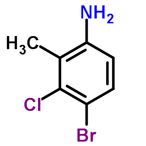 627531-47-9 4-bromo-3-chloro-2-methylaniline