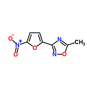 63-61-6 5-methyl-3-(5-nitrofuran-2-yl)-1,2,4-oxadiazole
