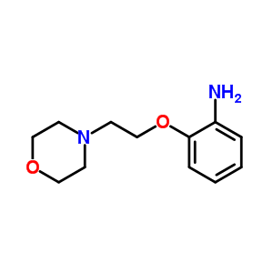 64039-56-1 2-(2-morpholin-4-ylethoxy)aniline