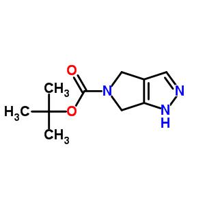 4,6-二氢-1H-吡咯[3,4-C]吡唑-5-甲酸叔丁酯 657428-42-7