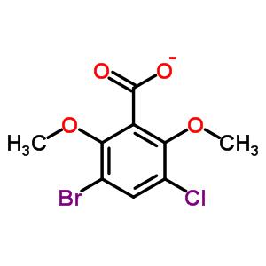 73219-92-8 3-bromo-5-chloro-2,6-dimethoxybenzoate
