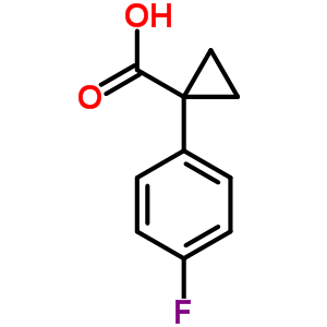 1-(4-fluorophenyl)cyclopropanecarboxylic acid 773100-29-1