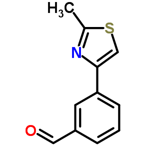 850375-05-2 3-(2-methyl-1,3-thiazol-4-yl)benzaldehyde