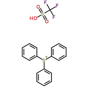 130595-32-3;181429-64-1;220122-79-2;66003-78-9 trifluoromethanesulfonic acid, triphenylsulfonium