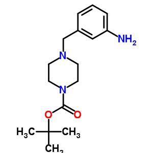 tert-Butyl 4-(3-aminobenzyl)piperazine-1-carboxylate 361345-40-6