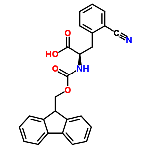 401933-16-2 2-cyano-N-[(9H-fluoren-9-ylmethoxy)carbonyl]-D-phenylalanine