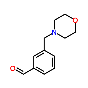 446866-83-7 3-(morpholin-4-ylmethyl)benzaldehyde