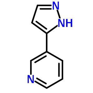 45887-08-9 3-(1H-pyrazol-5-yl)pyridine