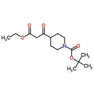 1-[(1,1-二甲基乙氧基)羰基]-beta-氧代-4-哌啶丙酸乙酯 479630-08-5