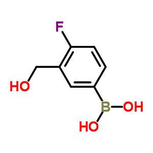4-氟-3-羟甲基苯硼酸 481681-02-1