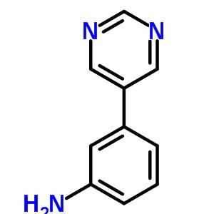 3-Pyrimidin-5-ylaniline 69491-59-4