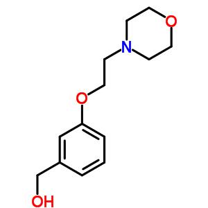 857284-07-2 [3-(2-morpholin-4-ylethoxy)phenyl]methanol