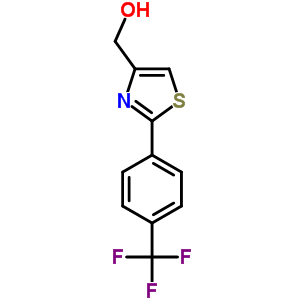 857284-25-4 {2-[4-(trifluoromethyl)phenyl]-1,3-thiazol-4-yl}methanol