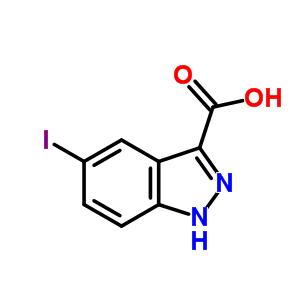 1077-97-0;677702-22-6 5-iodo-1H-indazole-3-carboxylic acid