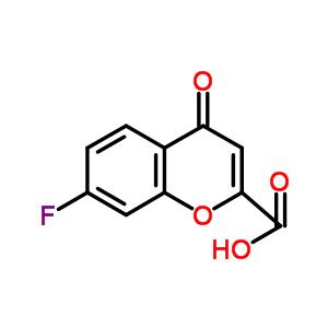 128942-39-2 7-fluoro-4-oxo-4H-chromene-2-carboxylic acid