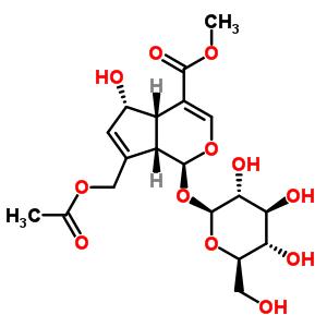 14260-99-2 methyl (1S,4aS,5S,7aS)-7-[(acetyloxy)methyl]-1-(beta-D-glucopyranosyloxy)-5-hydroxy-1,4a,5,7a-tetrahydrocyclopenta[c]pyran-4-carboxylate