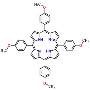 22112-78-3 5,10,15,20-tetrakis(4-methoxyphenyl)porphyrin