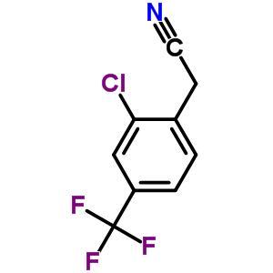 22902-82-5;22902-81-4 [4-Chloro-3-(trifluoromethyl)phenyl]acetonitrile