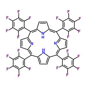 5,10,15,20-Tetrakis(pentafluorophenyl)porphyrin 25440-14-6